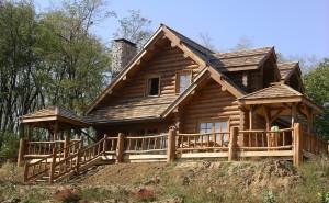 Рубка деревянных домов как выбрать внешний вид сруба