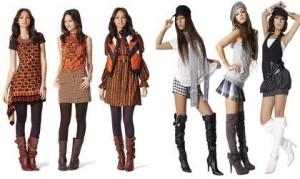 Основные молодёжные направления в моде