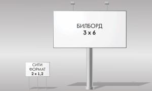 Билборд 3х6