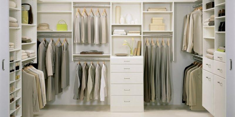 Недорогие гардеробные для хранения ваших вещей