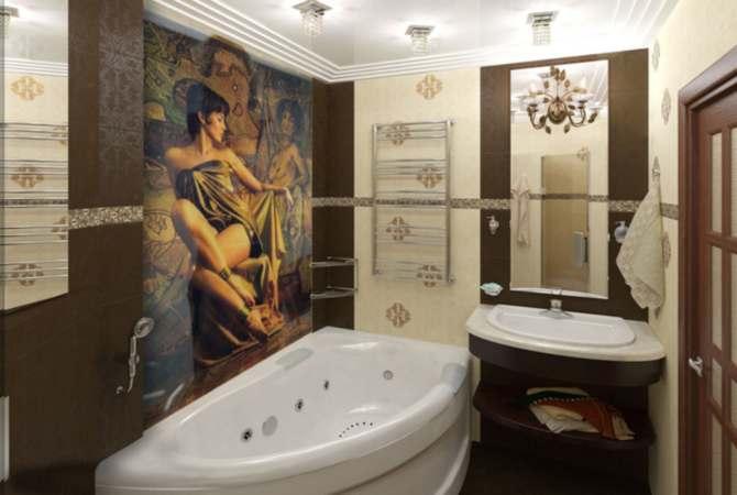 Мебель в ванную комнату: изучаем преимущества и недостатки материалов