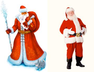 Дед Мороз или Санта Клаус?