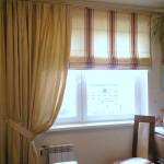 Римские шторы как оригинальное дополнение практически к любому интерьеру