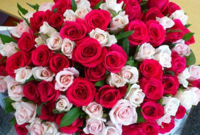 Лучший подарок для любой женщины – большой букет цветов