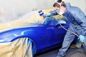 Покраска автомобиля: основные виды краски