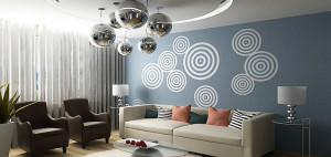 Эффективные советы по декорированию помещения с помощью трафарета