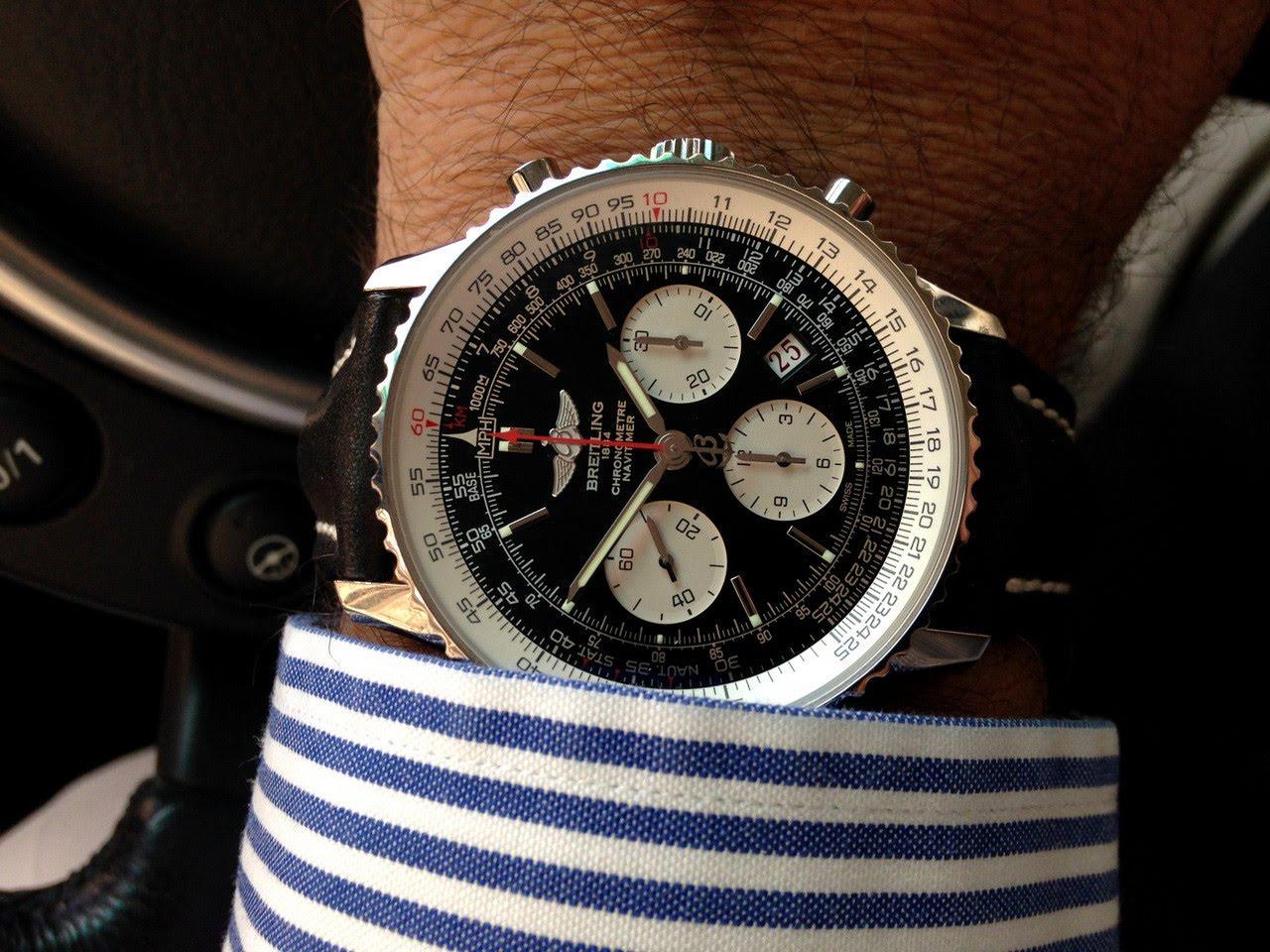 """Идеальные часы с точки зрения прочности корпуса от швейцарской компании """"Breitling"""""""