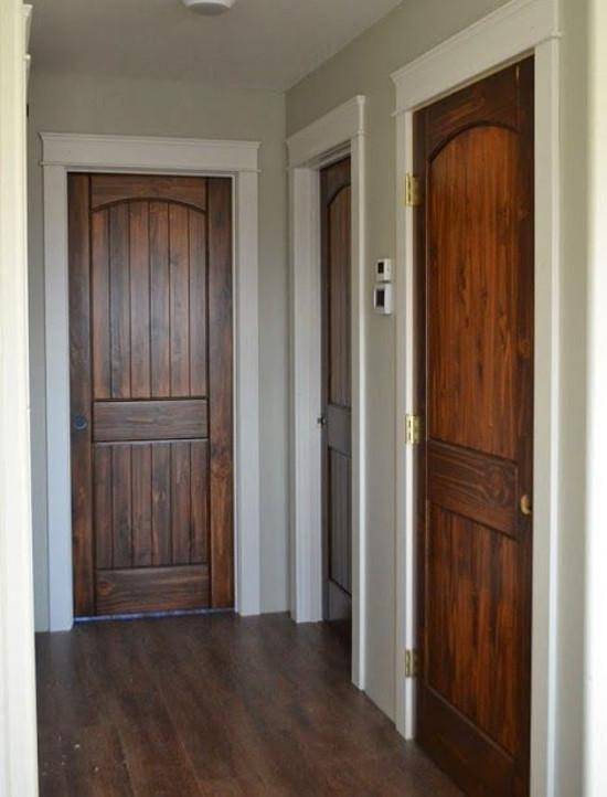Живая эстетика деревянных межкомнатных дверей