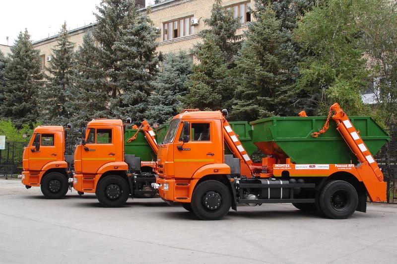 Организация вывоза мусора в Москве