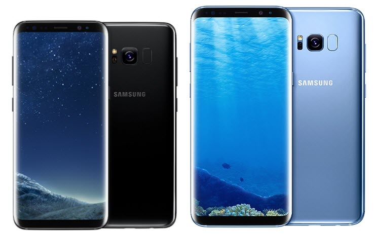 Samsung - Линейка Galaxy S8 в магазине Stylus