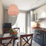 Бюджетные интерьеры небольших кухонных комнат