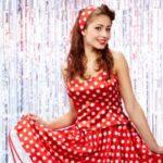Платье в стиле ретро покоряет современность