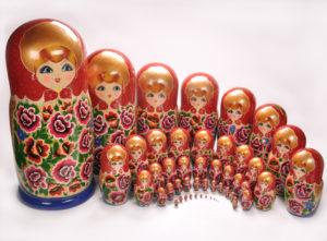 Матрешка - как русская символическая игрушка
