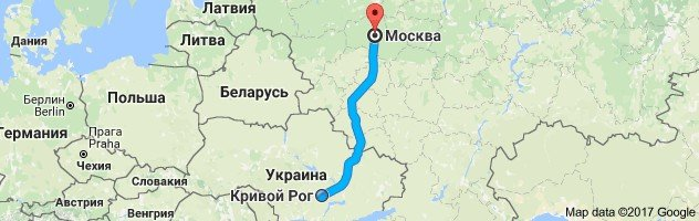 Рейсы на Москву