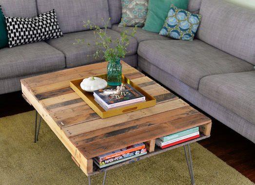 Возвращаем старый деревянный стол к жизни