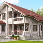 Преимущества проживания в домах из древесного сруба.
