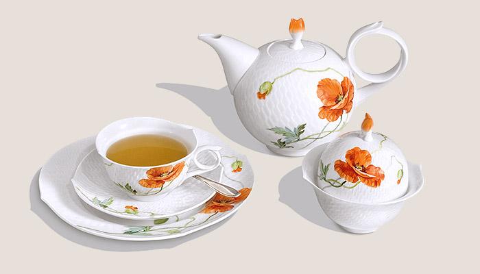 Разновидности и отличия фарфоровой посуды