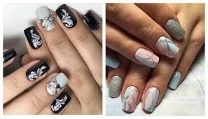 Модные рисунки на ногтях - маникюр