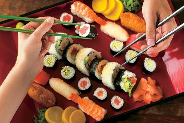 Особенности приготовления суши и роллов